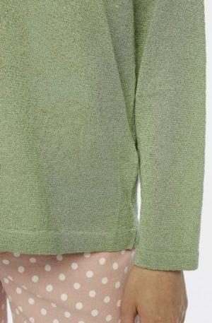 Jersey Verde Punto Brillo