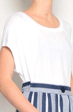 Camiseta fluida Blanca