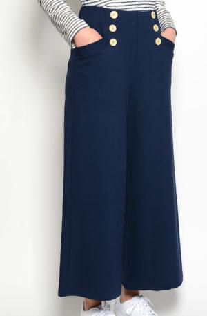 Pantalon Algodon Botones