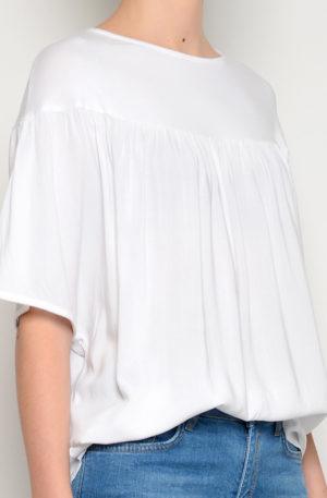 Camiseta Frunces Blanca