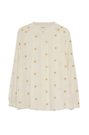 Blusa Golden Flowers  Caroline