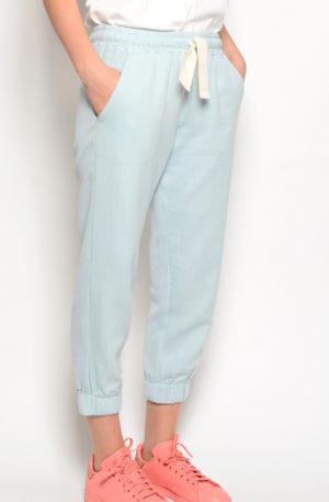 Pantalon Pique Azul Agua