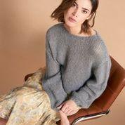 Sueter lana con lurex