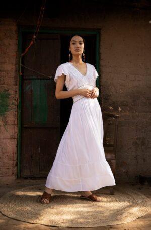 Vestido Vina Blanco